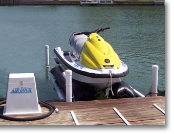 Air Dock Boat Lifts | PWCs